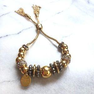 Henri bendel Gold tassel bracelet